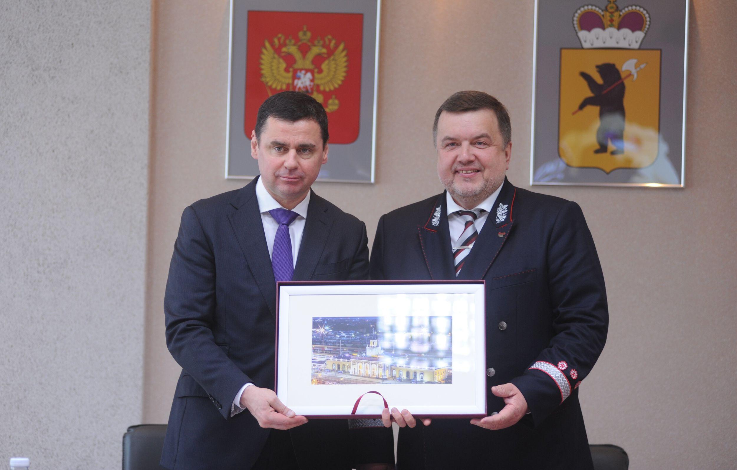 Ярославской области выделят 8 млрд. рублей на развитие железных дорог – Миронов