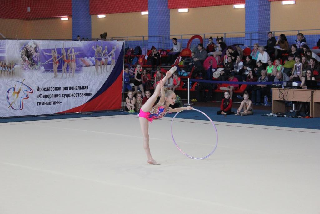 Более 100 юных спортсменок выступят на чемпионате Ярославской области по художественной гимнастике