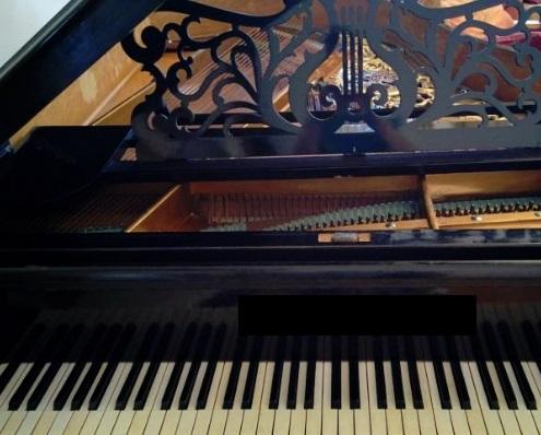 В Ярославле продают старинный рояль в имперском стиле за 300 тысяч рублей
