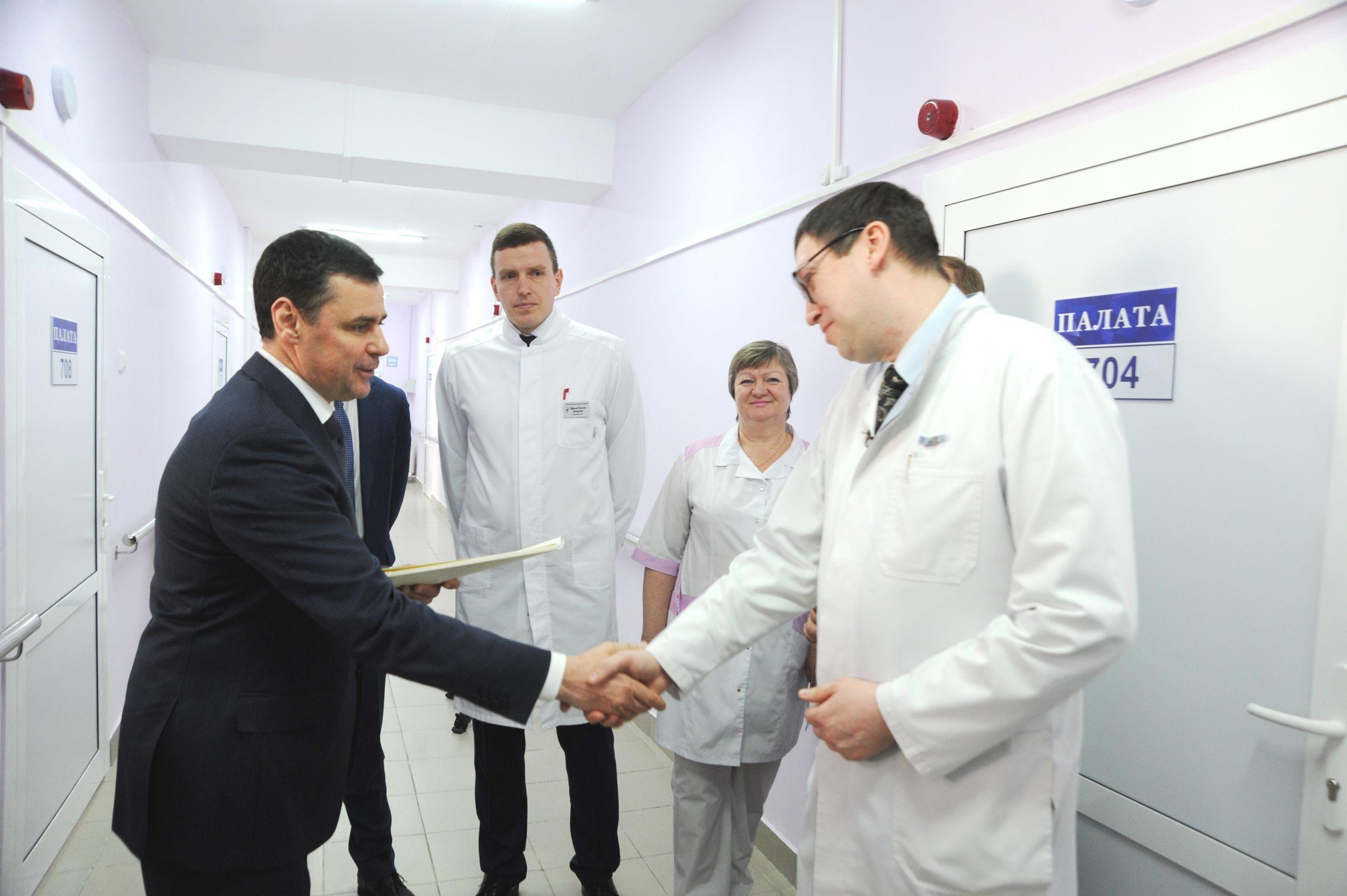 Дмитрий Миронов: в областной больнице после ремонта открылось лор-отделение