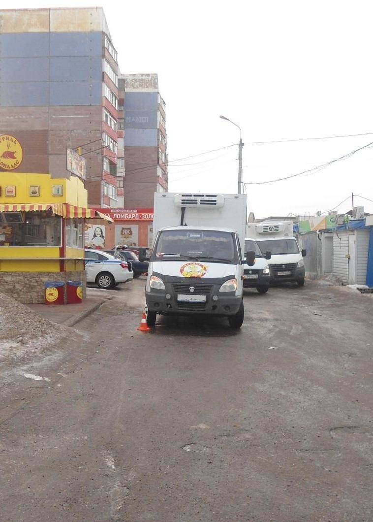 В Ярославле грузовая «Газель» сбила 11-летнего мальчика