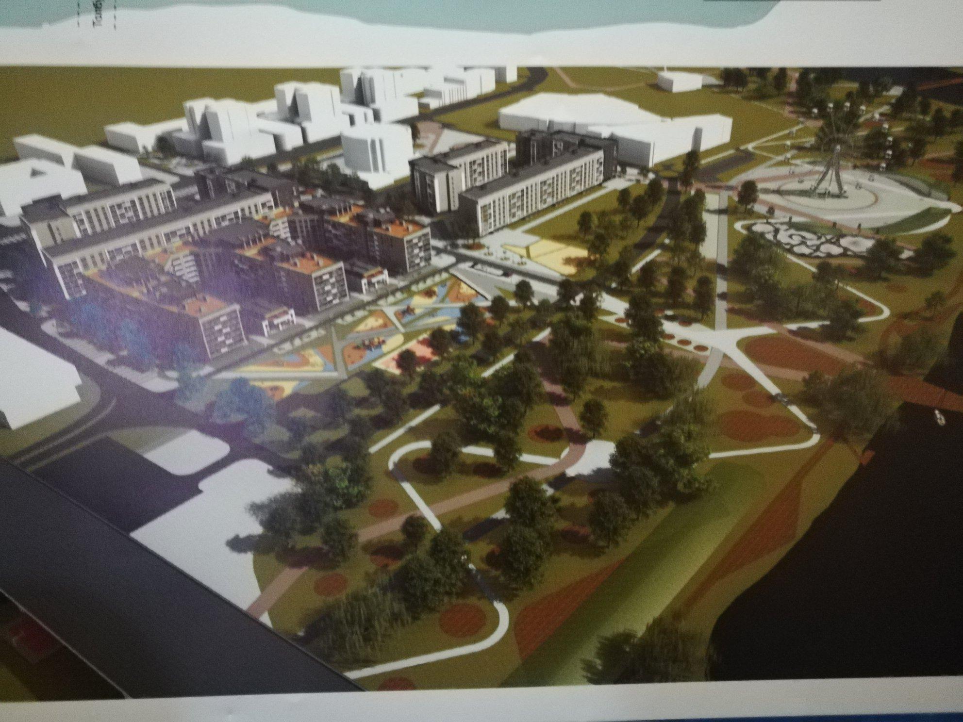 Опубликован проект нового квартала на Которосльной набережной в Ярославле