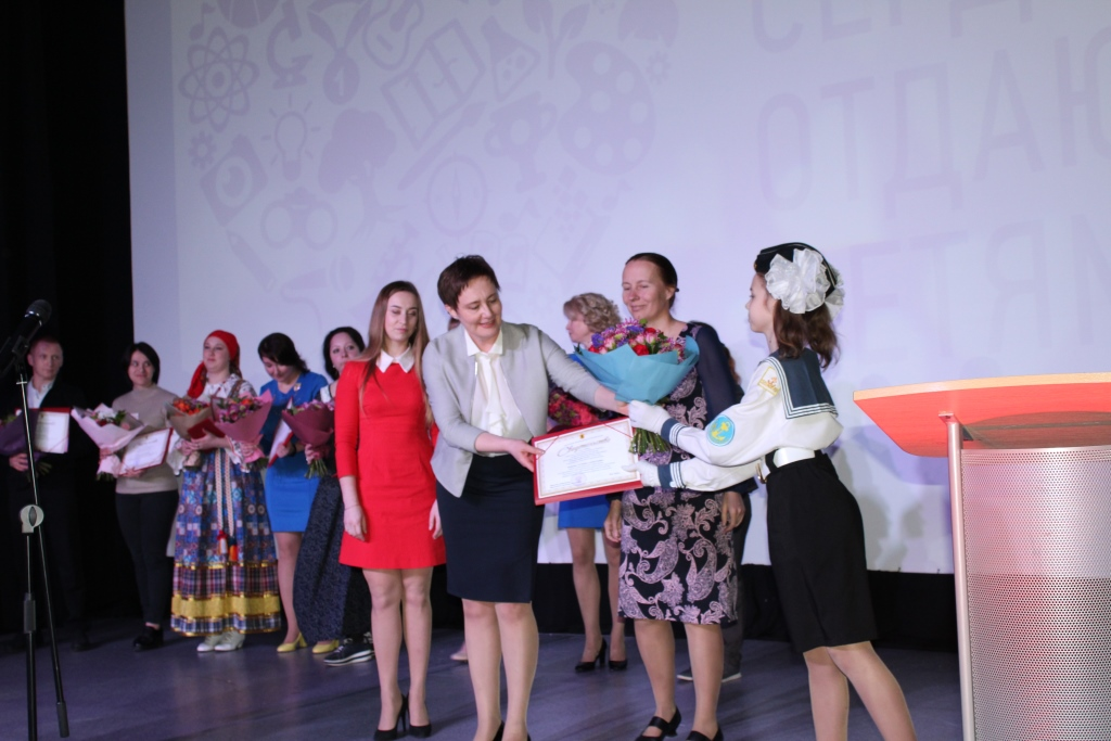 Победителем областного конкурса «Сердце отдаю детям» стала педагог морского центра имени адмирала Ушакова