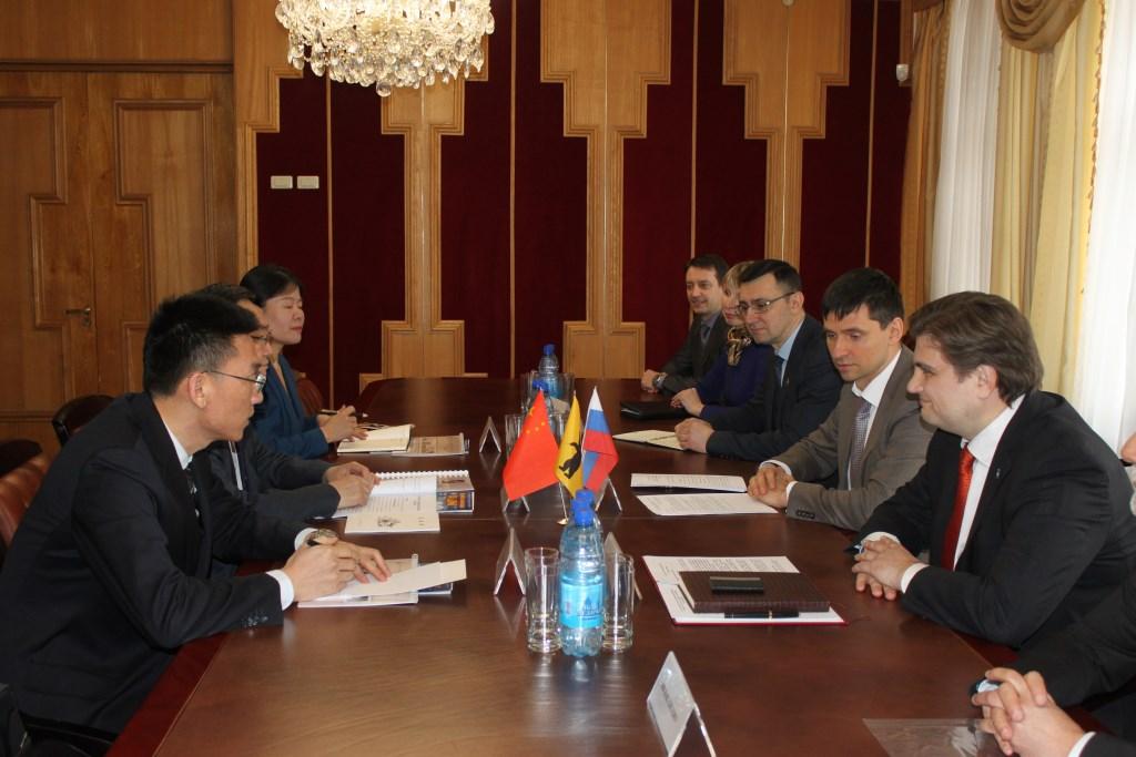 Ярославская область планирует сотрудничать с Китаем в сферах промышленности и образования