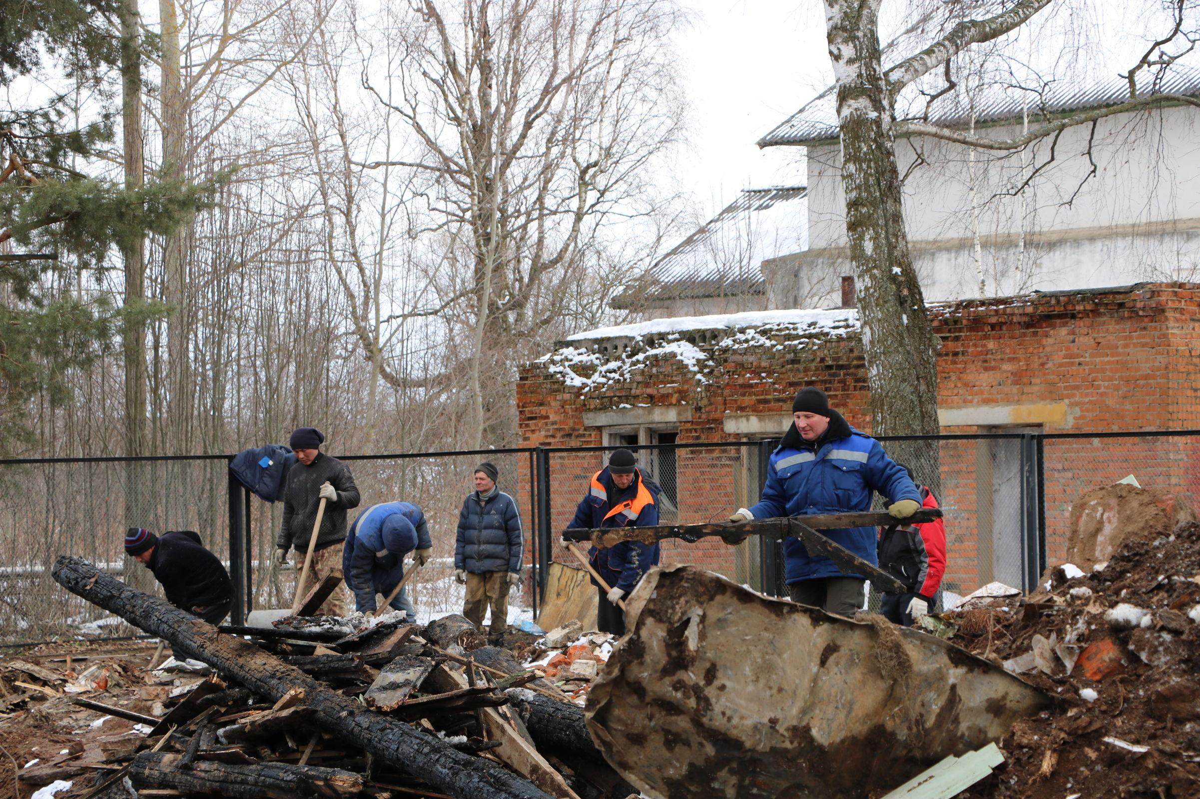 В Ростовском районе на месте сгоревшей школы построят новую