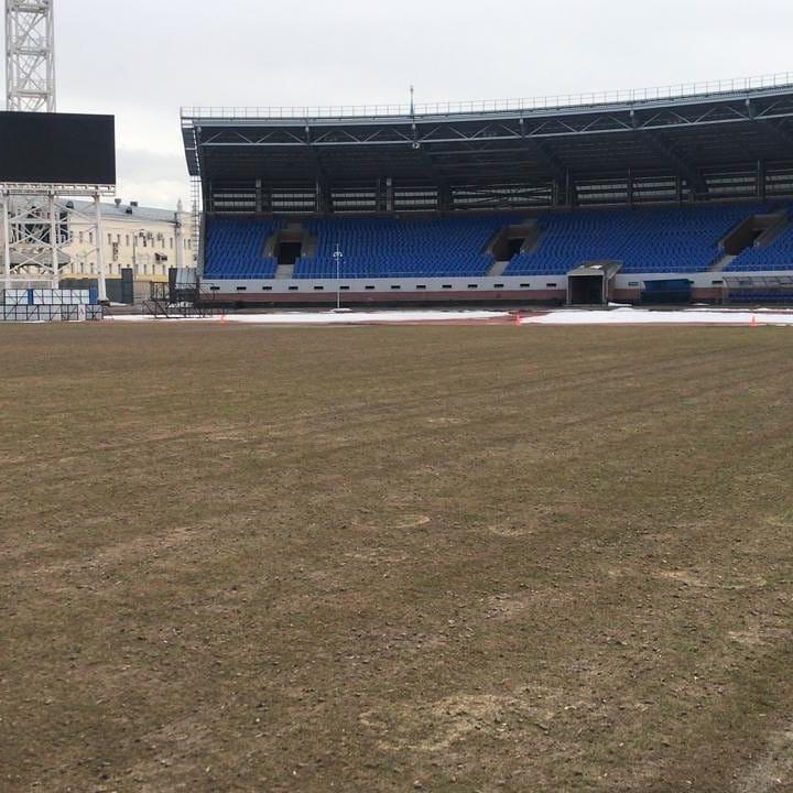 Гендиректор «Шинника» показал, как выглядит поле после зимы