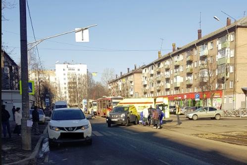В Ярославле иномарка сбила 87-летнюю пенсионерку