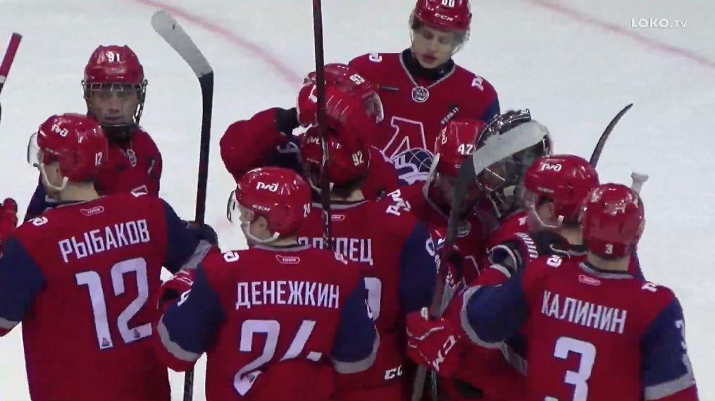 «Локо» обыграл «Мамонтов Югры» в третьем матче полуфинала Кубка Харламова