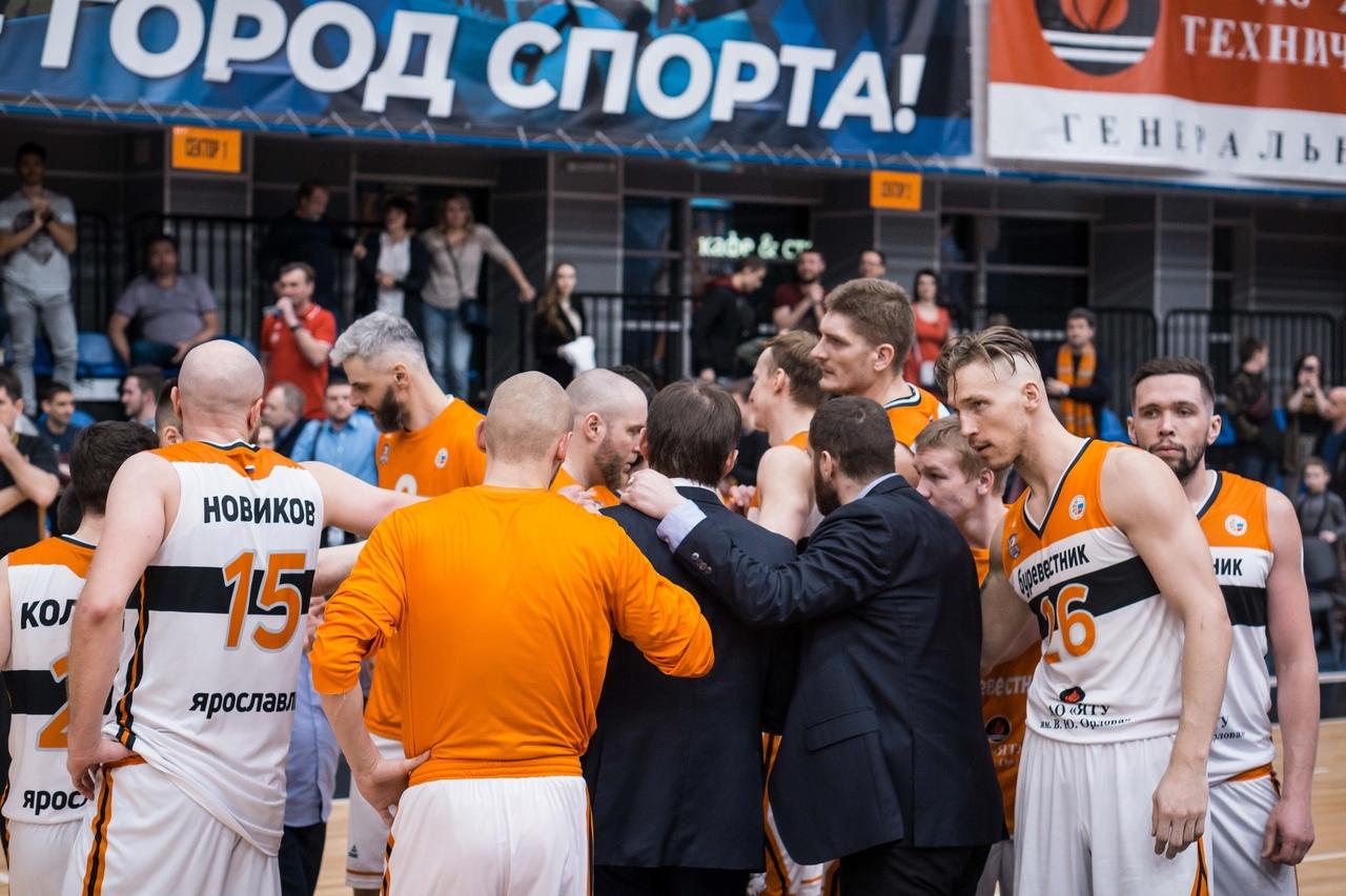 «Буревестник» уступил «Спартаку» в пятом матче серии и завершил сезон