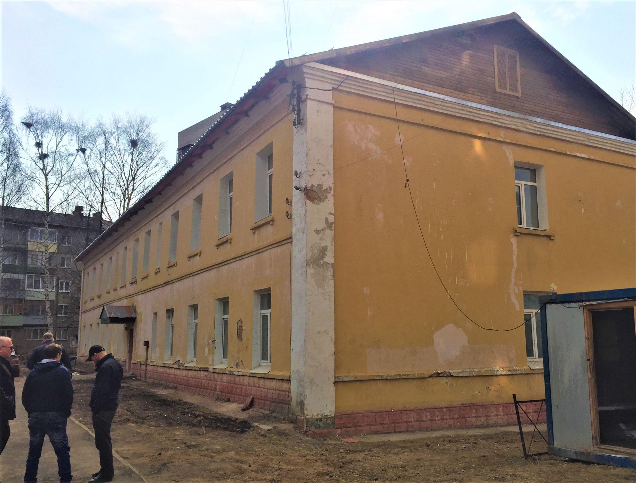 В Ярославле сдан первый в наступившем сезоне капитальный ремонт крыши