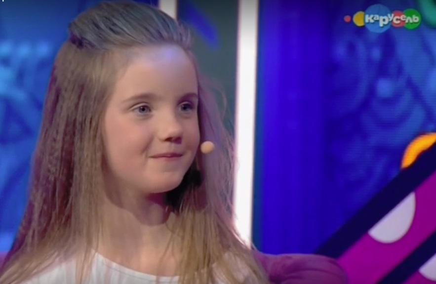 Шестилетняя девочка из Ярославля выступила на федеральном шоу