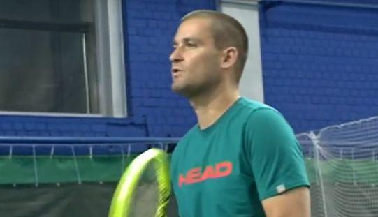 Известный теннисист Михаил Южный провел мастер-класс в Ярославле: видео