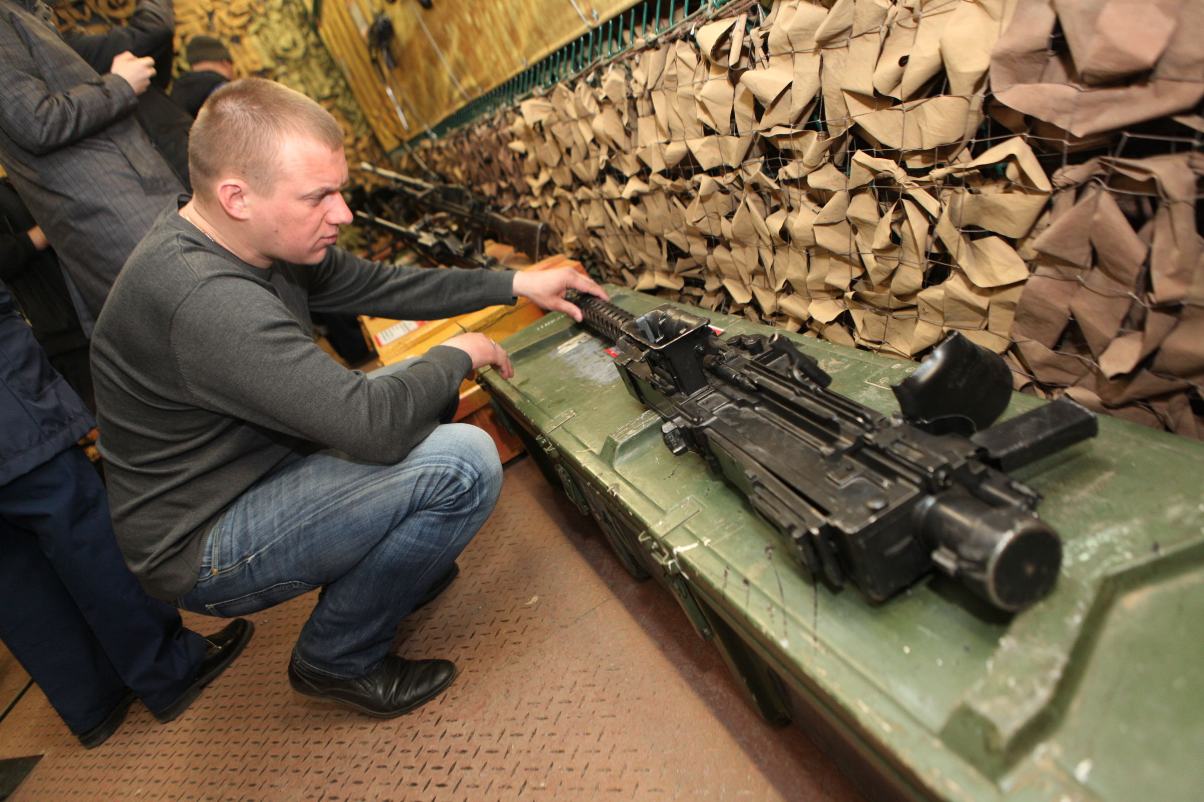 Ярославцы смогли увидеть трофейное оружие, захваченное во время операции в Сирии