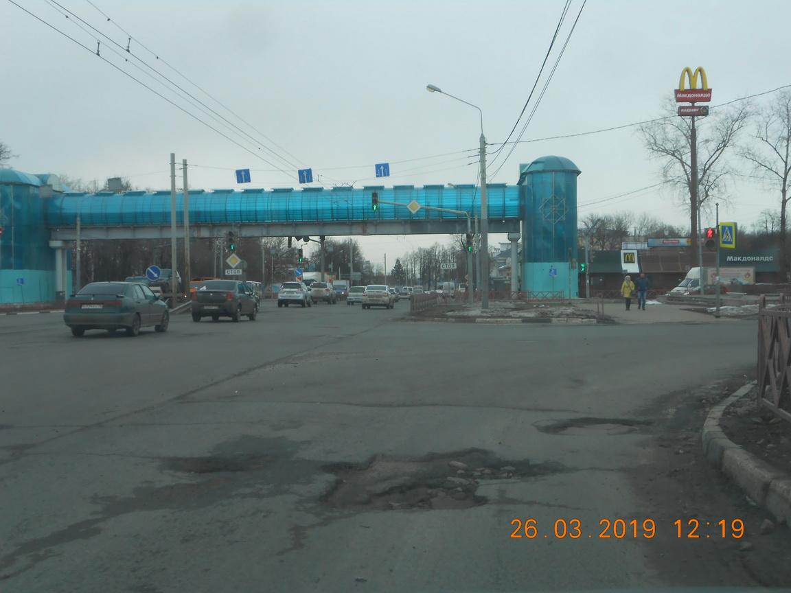 Участок Московского проспекта прокуроры потребовали отремонтировать через суд