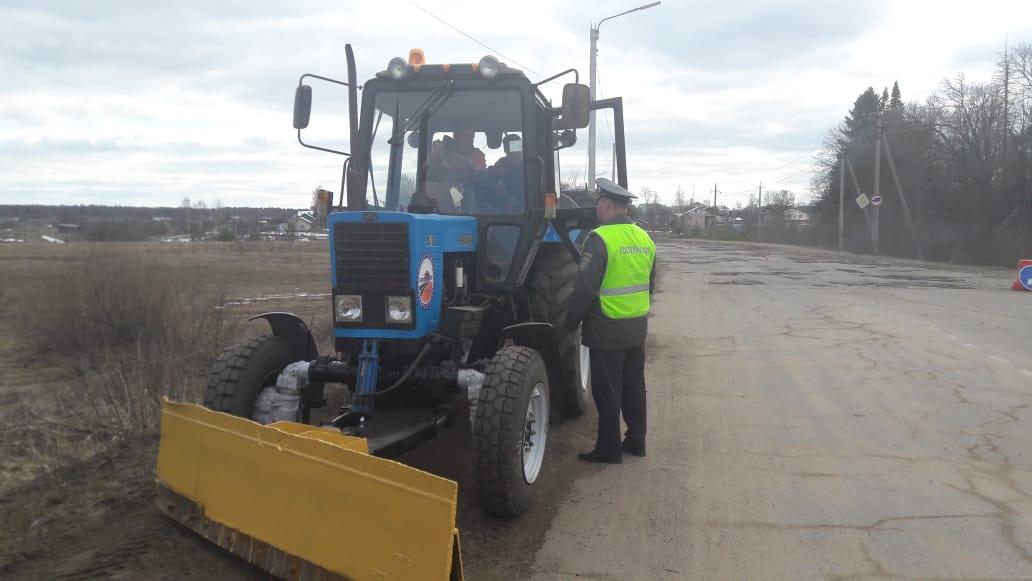 В рамках профилактической акции «Трактор» 15 нарушителей привлечены к административной ответственности