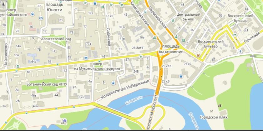 Из-за забега в Ярославле на день перекроют центр города