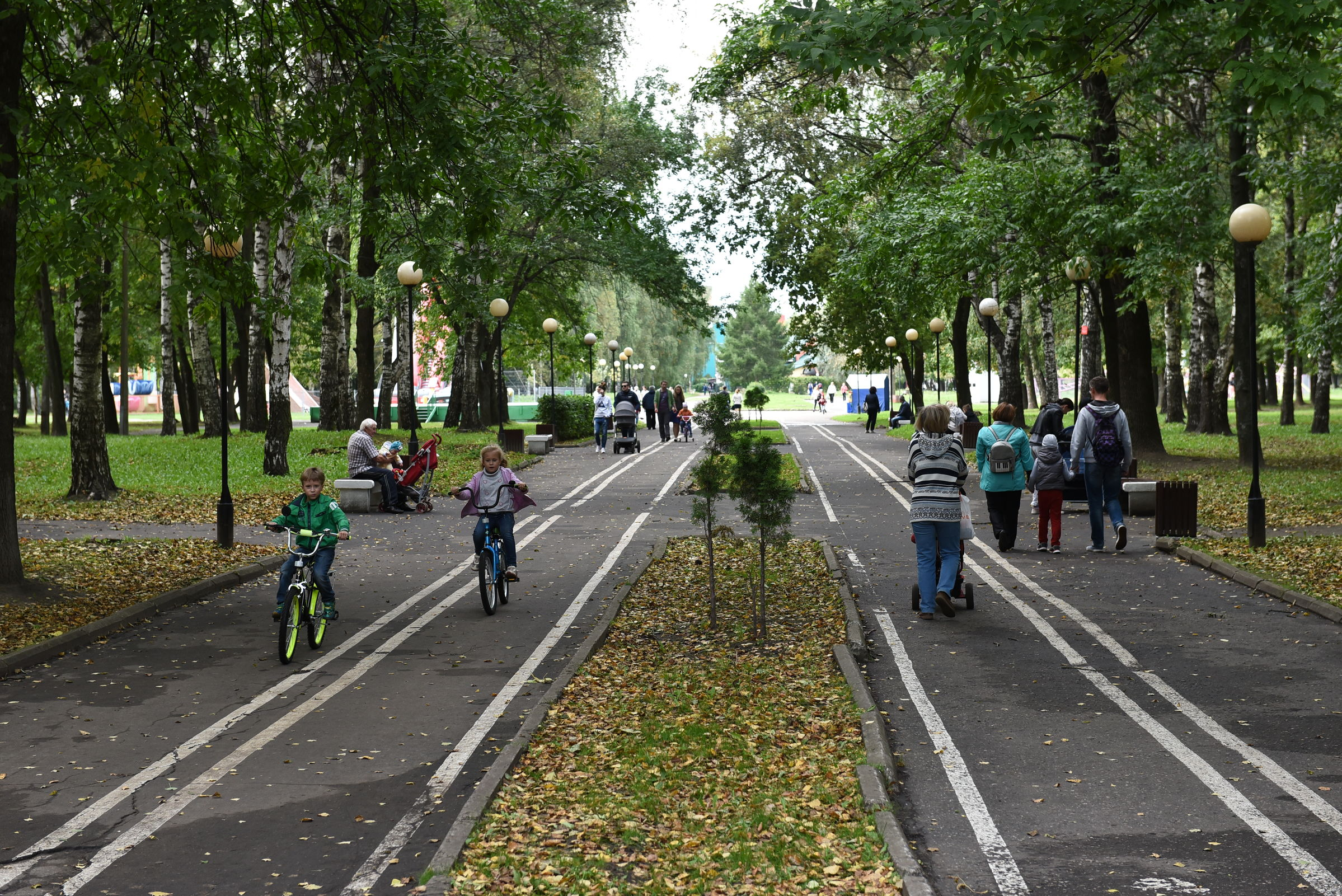 В Ярославле городские парки переходят на летний режим работы