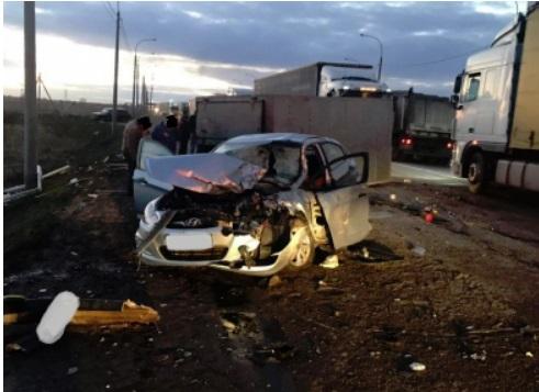 Три человека пострадали в ДТП на Юго-Западной окружной дороге в Ярославле