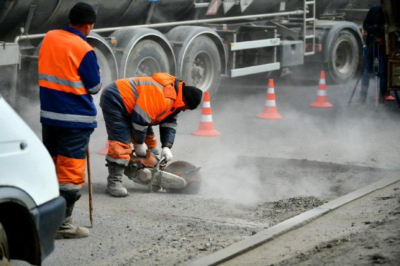 Мэрия: для ремонта окружной дороги Ярославля используют экспериментальную технологию