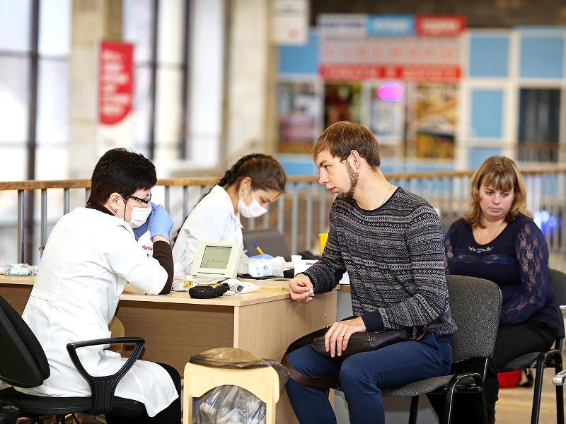 На Ярославле-Главном пассажиры смогут бесплатно проверить свое здоровье