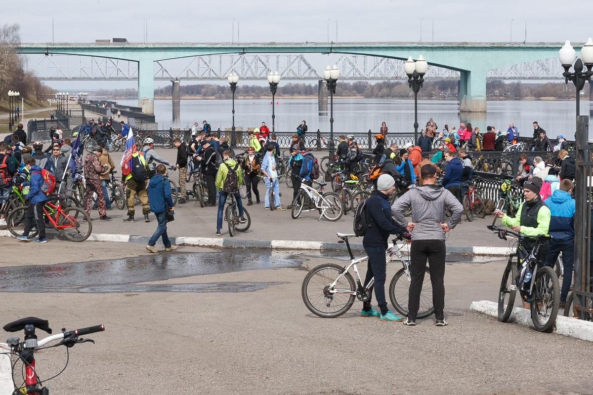 Крупнейший велоклуб Ярославля открыл сезон: фото
