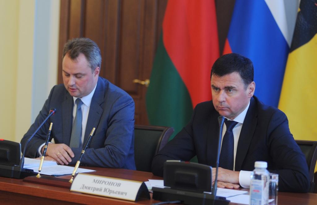 Дмитрий Миронов: за прошлый год объем товарооборота Ярославской области с Республикой Беларусь вырос в полтора раза