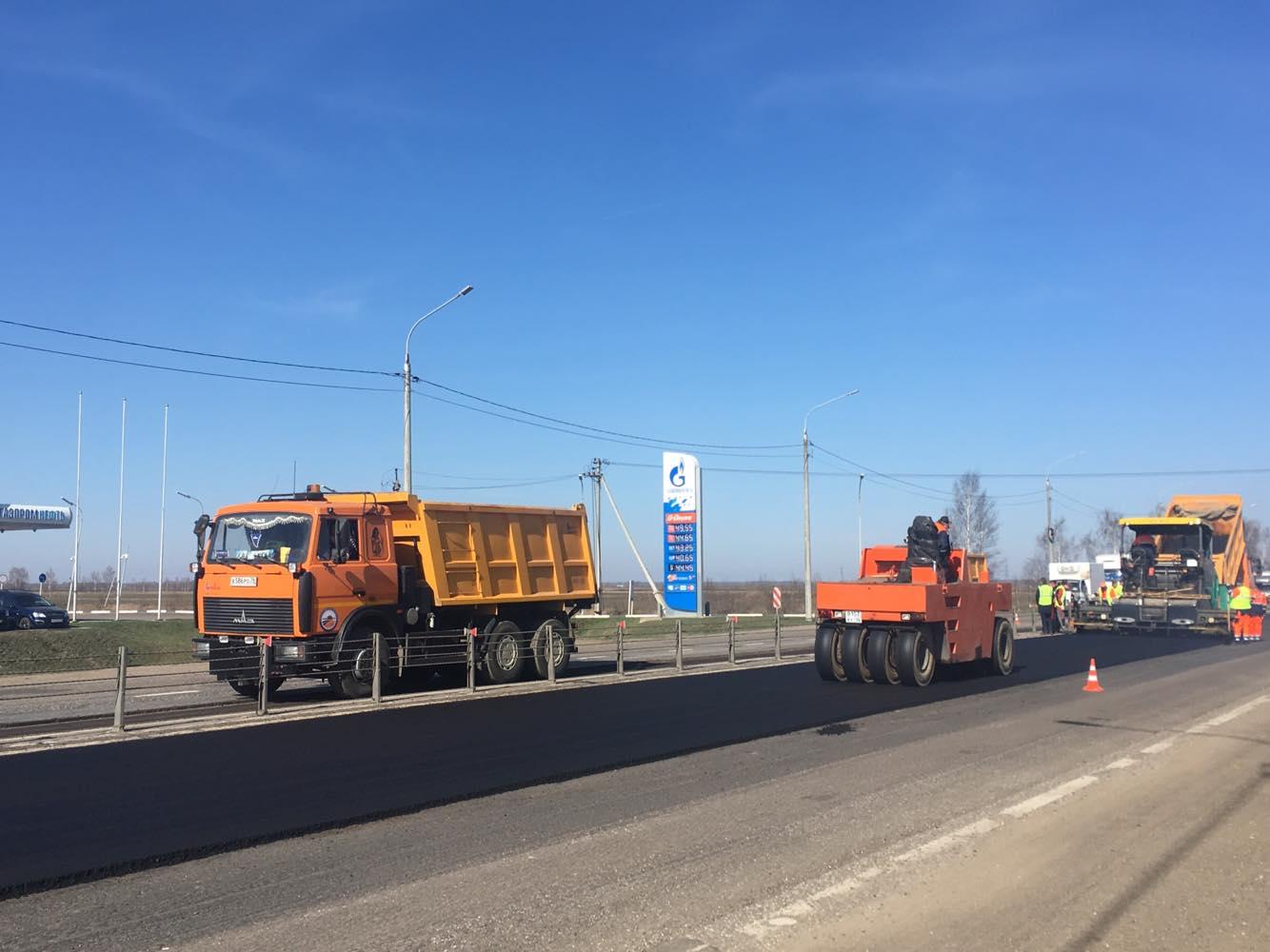 Сезон ремонта дорог стартовал в Ярославской области