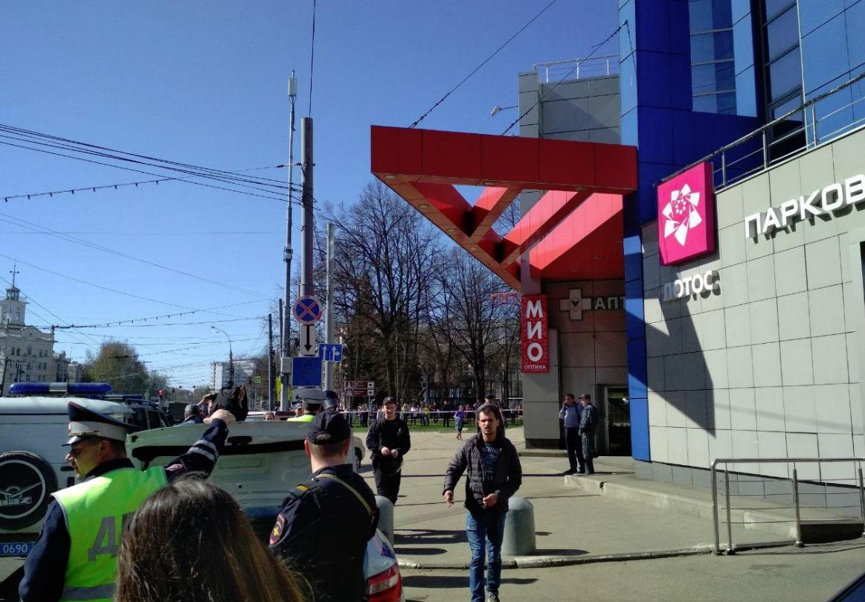 В Ярославле эвакуировали посетителей и работников торгового центра