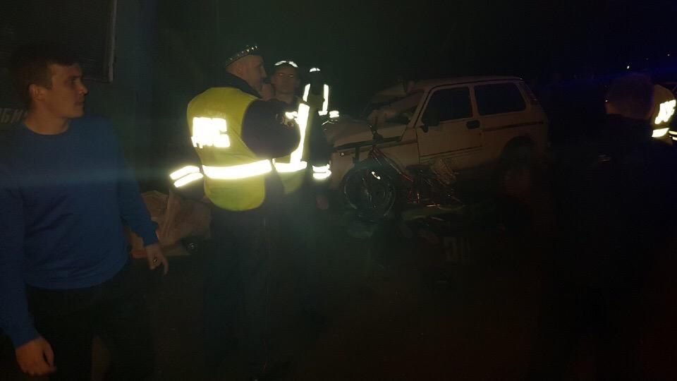 В Ярославле пьяный водитель «Нивы» без прав сбил маму с дочкой
