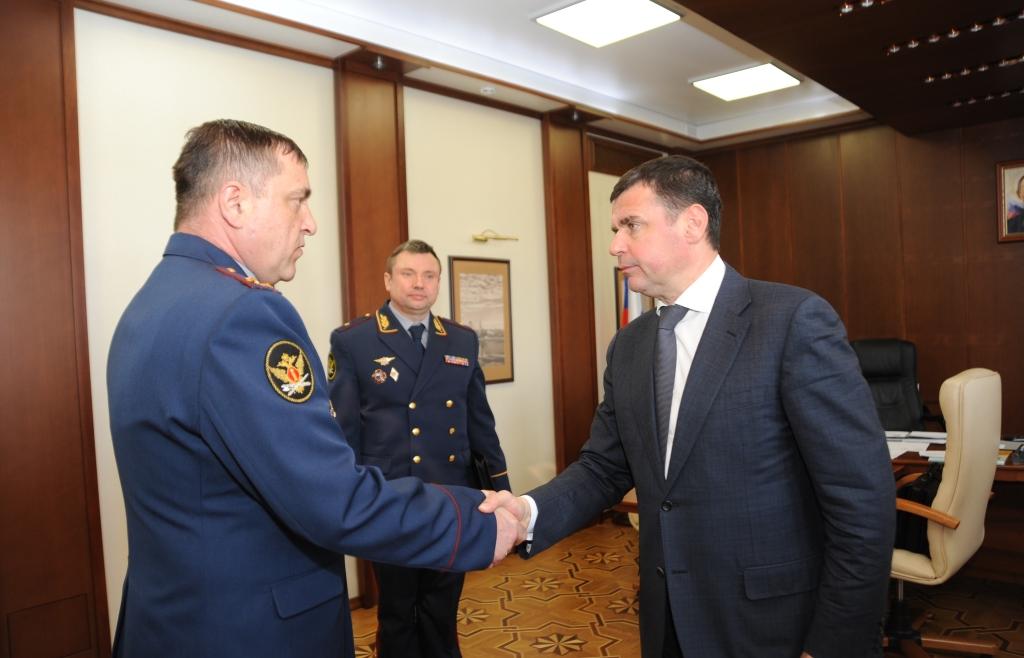 Дмитрий Миронов и новый начальник УФСИН обсудили вопросы взаимодействия