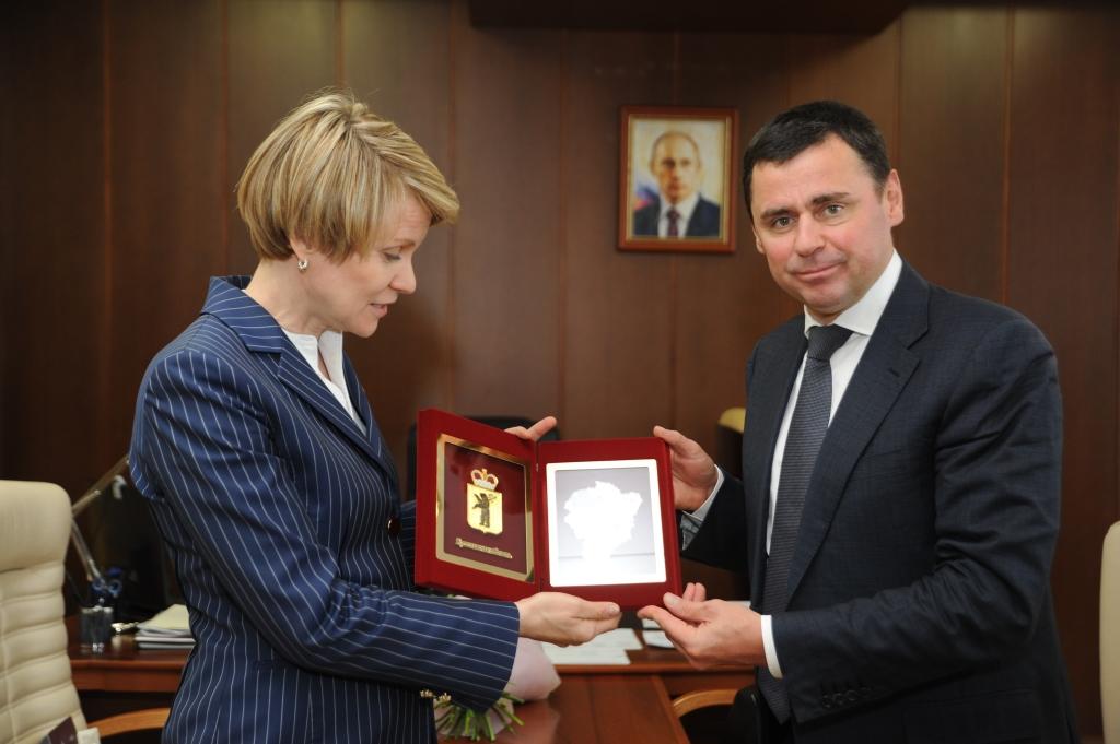 Дмитрий Миронов и Елена Шмелева обсудили вопрос создания в регионе центра для талантливых детей