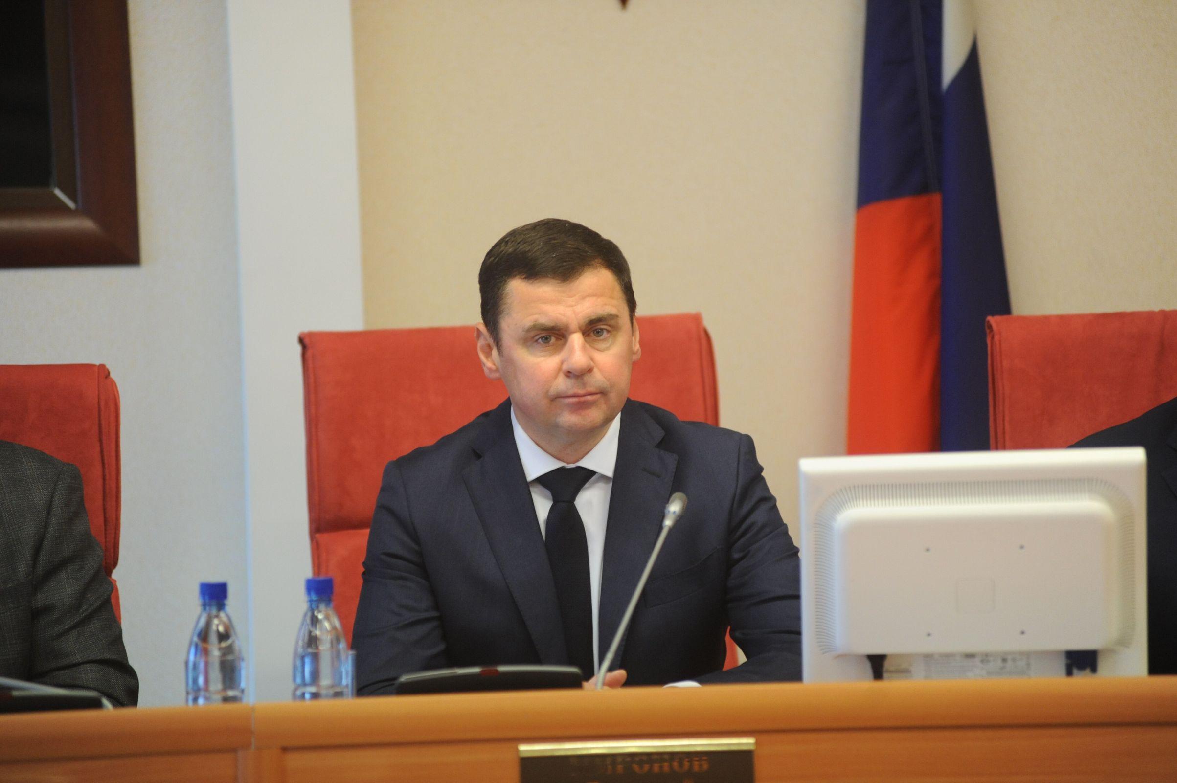 Дмитрий Миронов представил депутатам отчет о работе регионального правительства за 2018 год