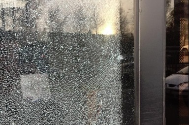 В Ярославле обстреляли два пассажирских автобуса