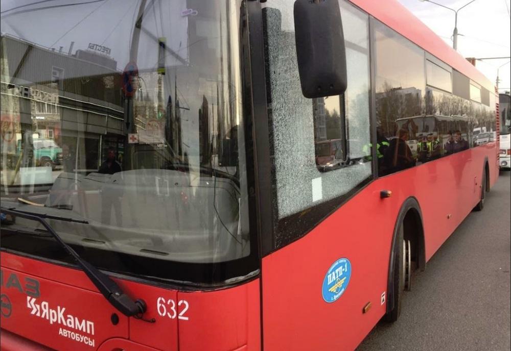 В Ярославле задержали парней, обстрелявших пассажирские автобусы