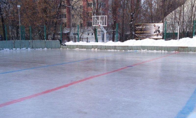 Школа имени Ивана Ткаченко просит ярославцев проголосовать за восстановление хоккейного корта