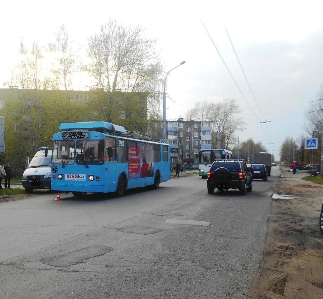В Рыбинске под колеса троллейбуса попал ребенок
