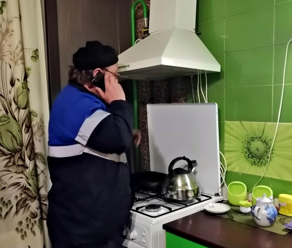 В Рыбинске несколько семей отключили от газа за неуплату