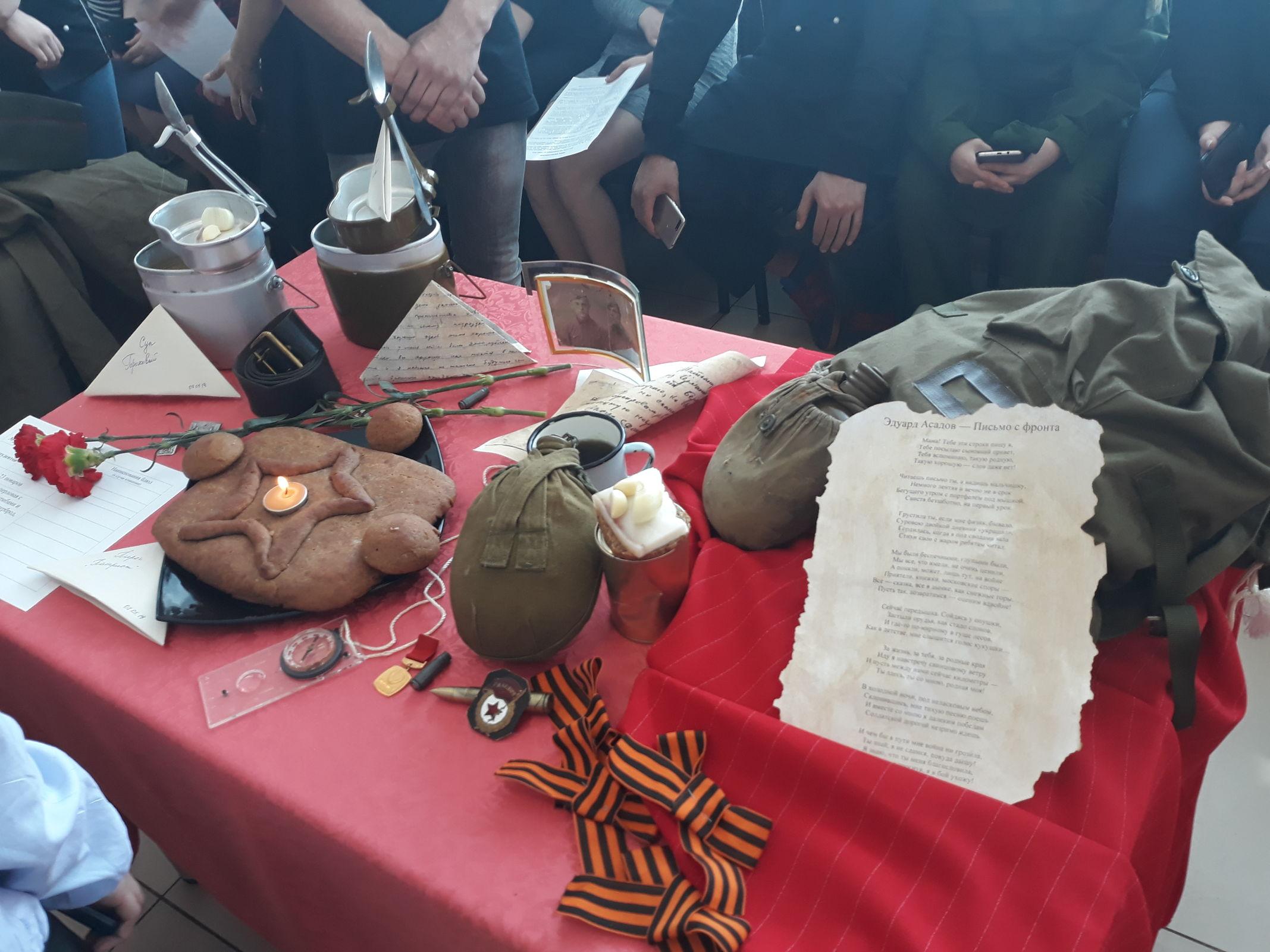 Студенты профобразования на День Победы готовят блюда военного времени