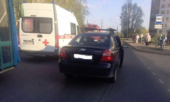 В Рыбинске женщину-пешехода на «зебре» сбила машина
