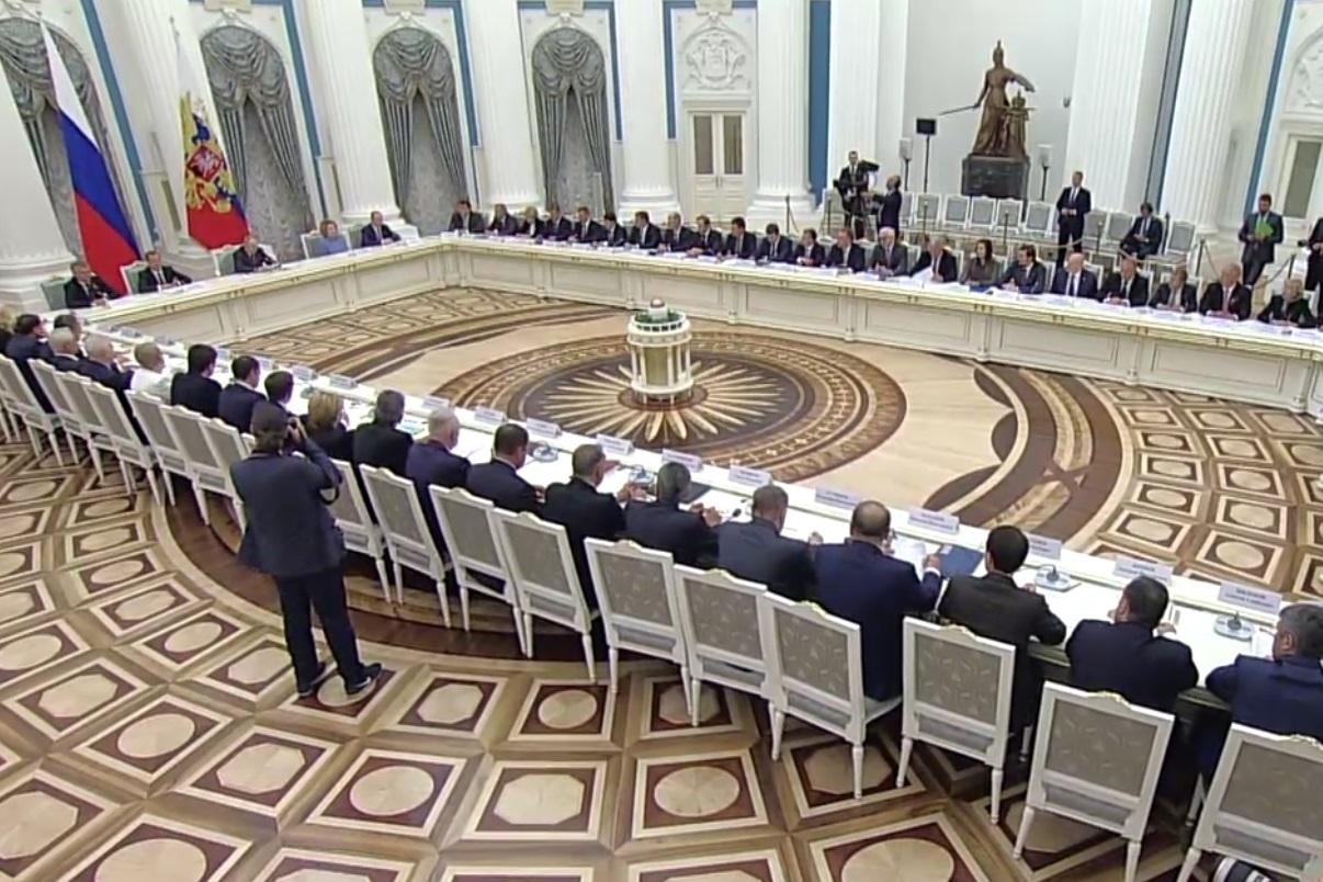Дмитрий Миронов принял участие в заседании Совета при Президенте РФ по стратегическому развитию и приоритетным проектам