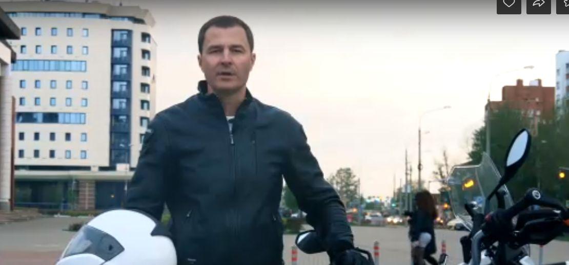 Мэр Ярославля записал видео в образе крутого байкера