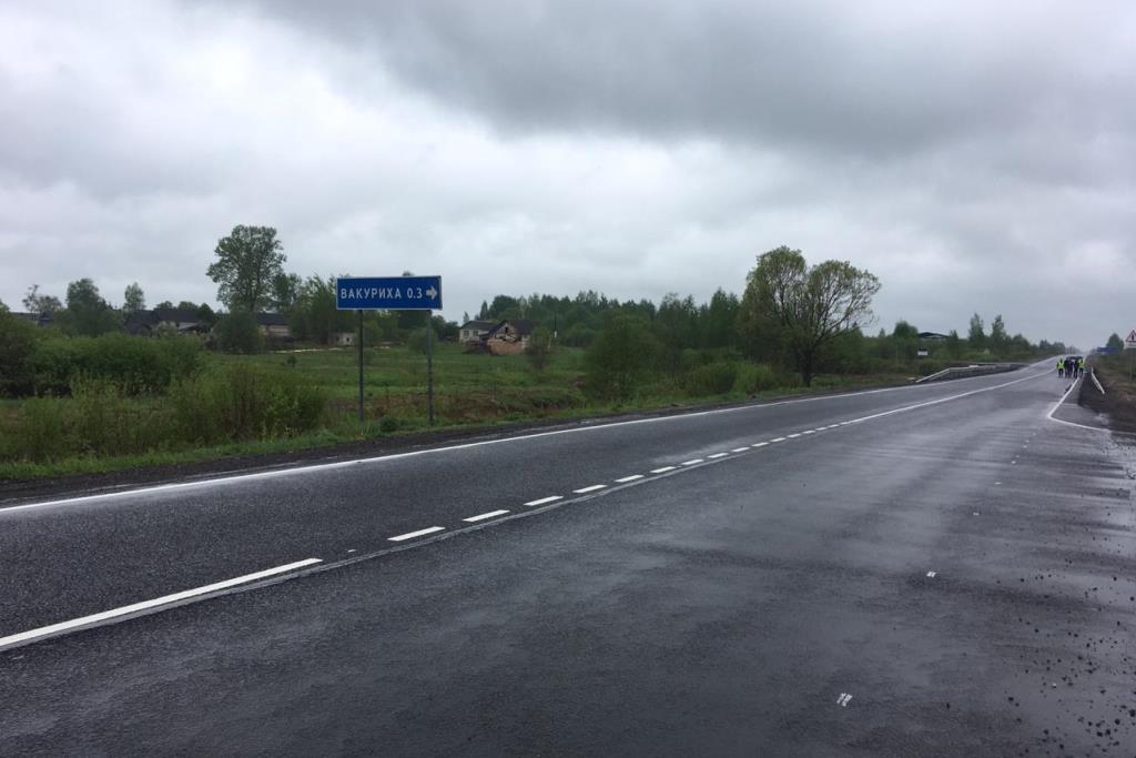 Подрядчик, отремонтировавший участок дороги Иваново – Писцово – Гаврилов-Ям – Ярославль, устранит все недостатки в рамках гарантийных обязательств