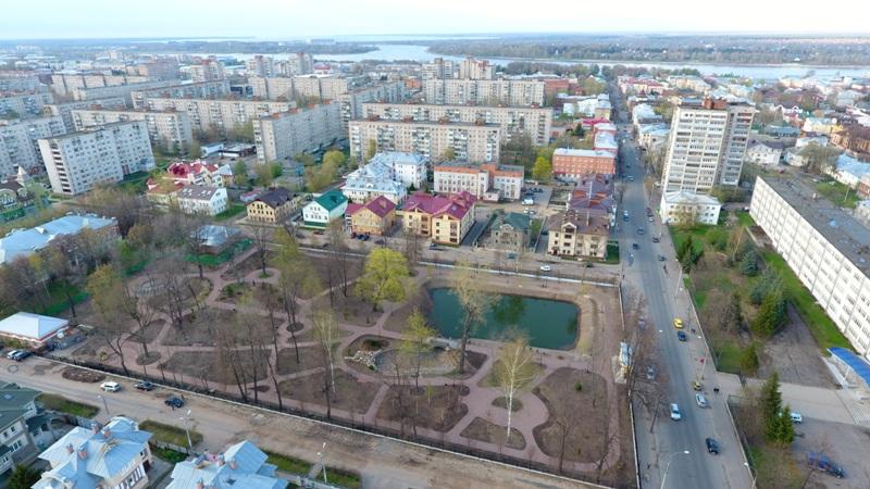 Карякинский парк в Рыбинске откроется 31 мая