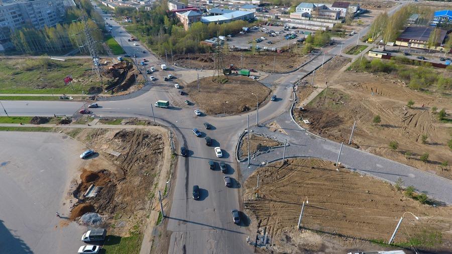 В Рыбинске заканчивают строить транспортную развязку на Расторгуева