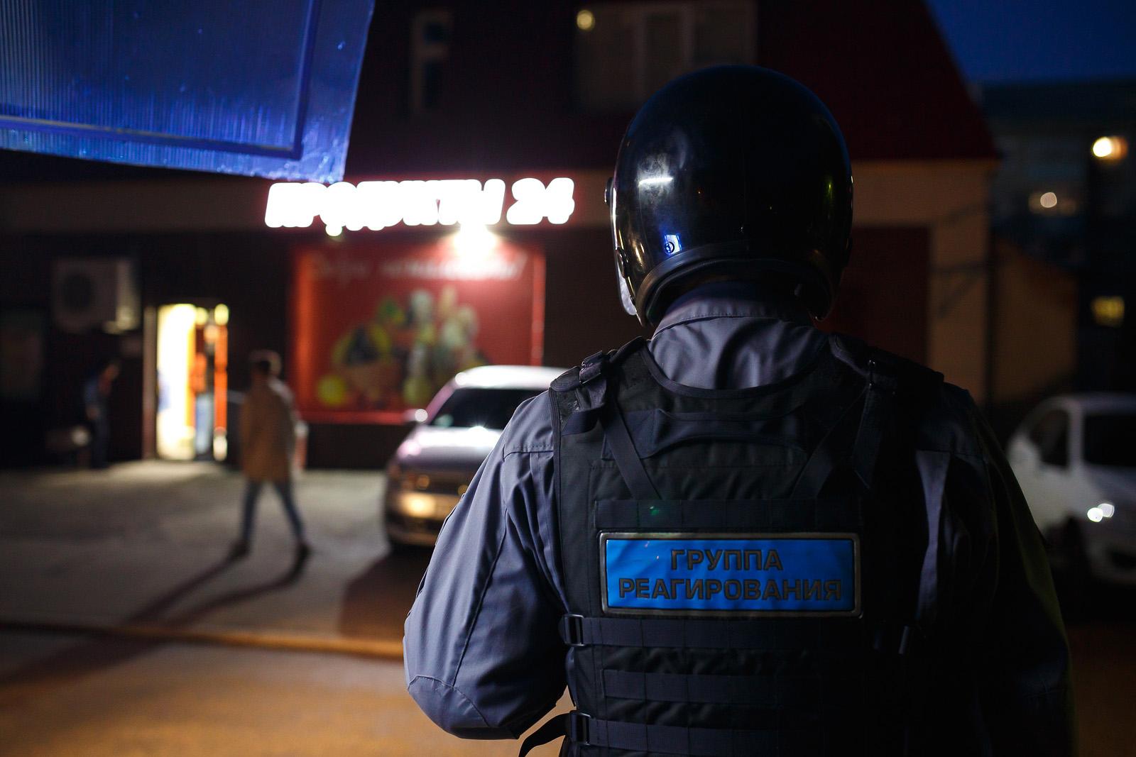 В Ярославле охранники закрыли воришку в продуктовом магазине