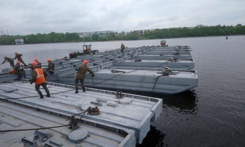 Дмитрий Миронов: в поселке Некрасовском возведут понтонный мост