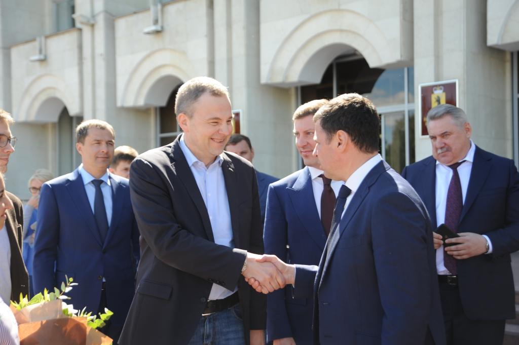Дмитрий Миронов обсудил с представителями Международной федерации волейбола возможность проведения в Ярославле игр чемпионата мира