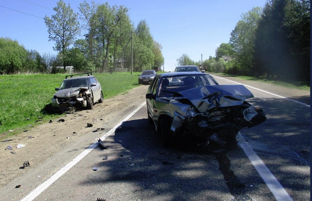 Женщина пострадала в результате ДТП на автодороге Ярославль – Углич