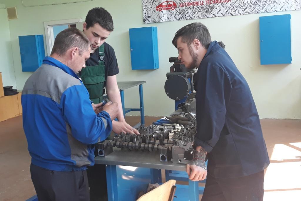 Немецкие студенты получают знания в Ярославском политехническом колледже