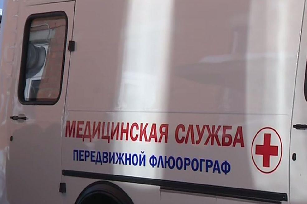 Жители отдаленных деревень Первомайского района прошли обследование на передвижной флюорографической установке